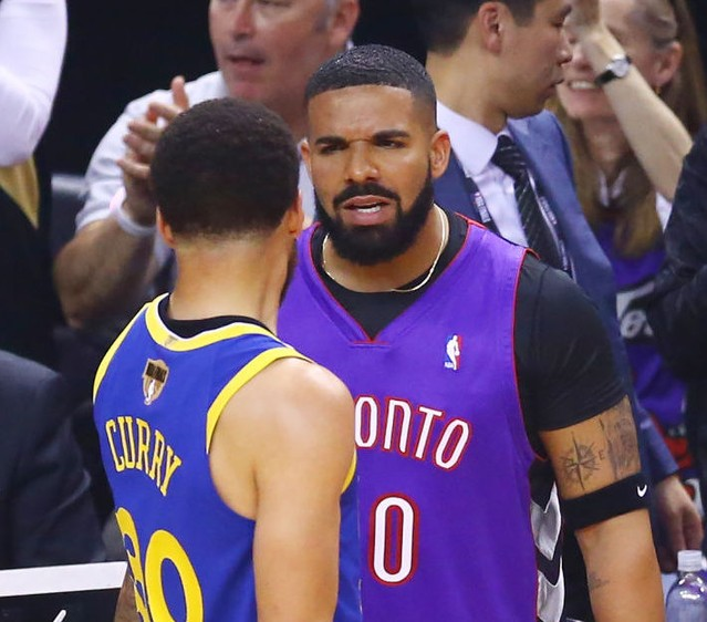 Drake Did Not Calm Down At NBA Finals Game 1
